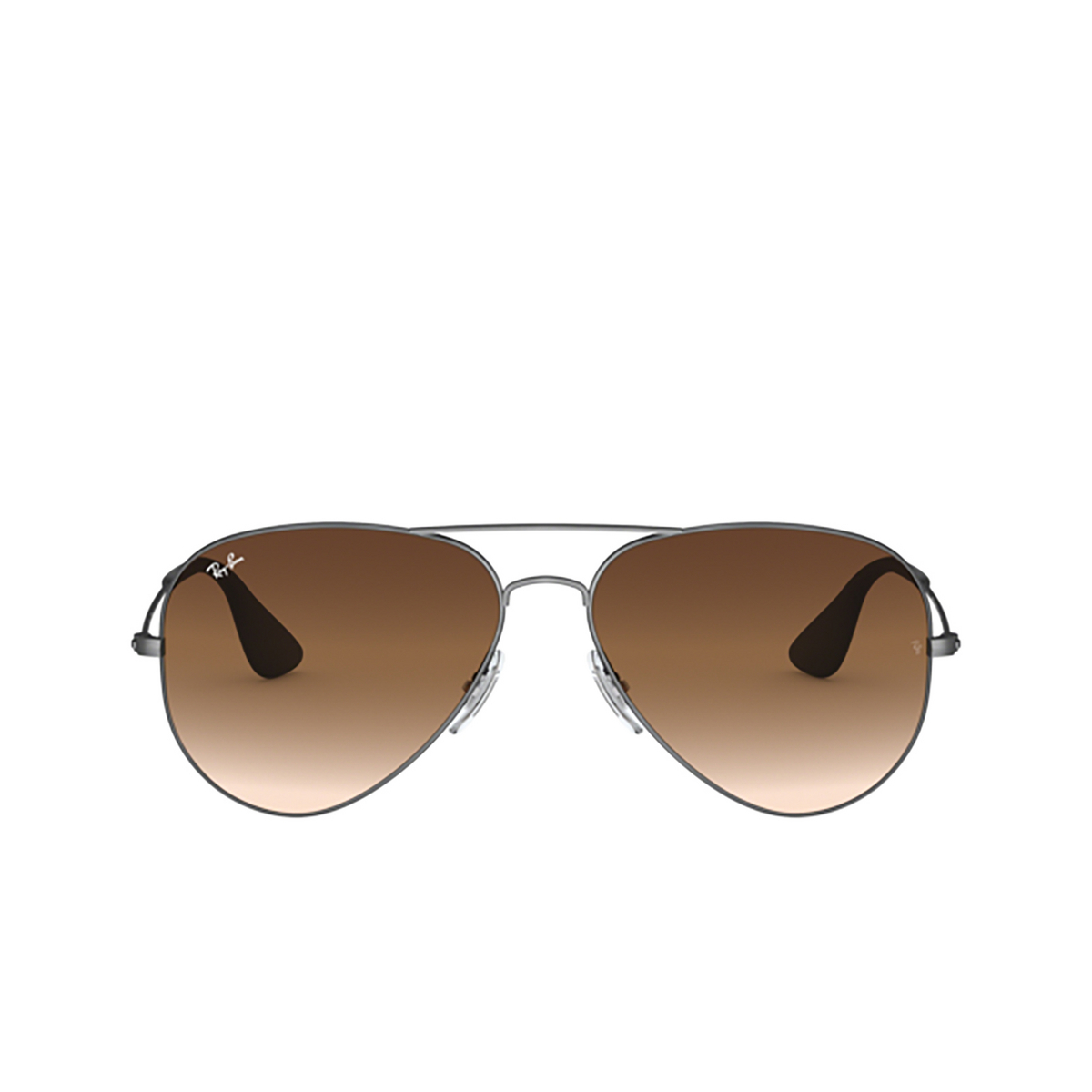 Ray-Ban® Aviator Sunglasses: RB3558 color Matte Black Antique 913913 - 1/3.