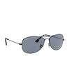 Ray-Ban® Aviator Sunglasses: RB3562 color Matte Black 006/BA - product thumbnail 2/3.