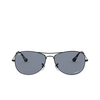 Ray-Ban® Aviator Sunglasses: RB3562 color Matte Black 006/BA - product thumbnail 1/3.