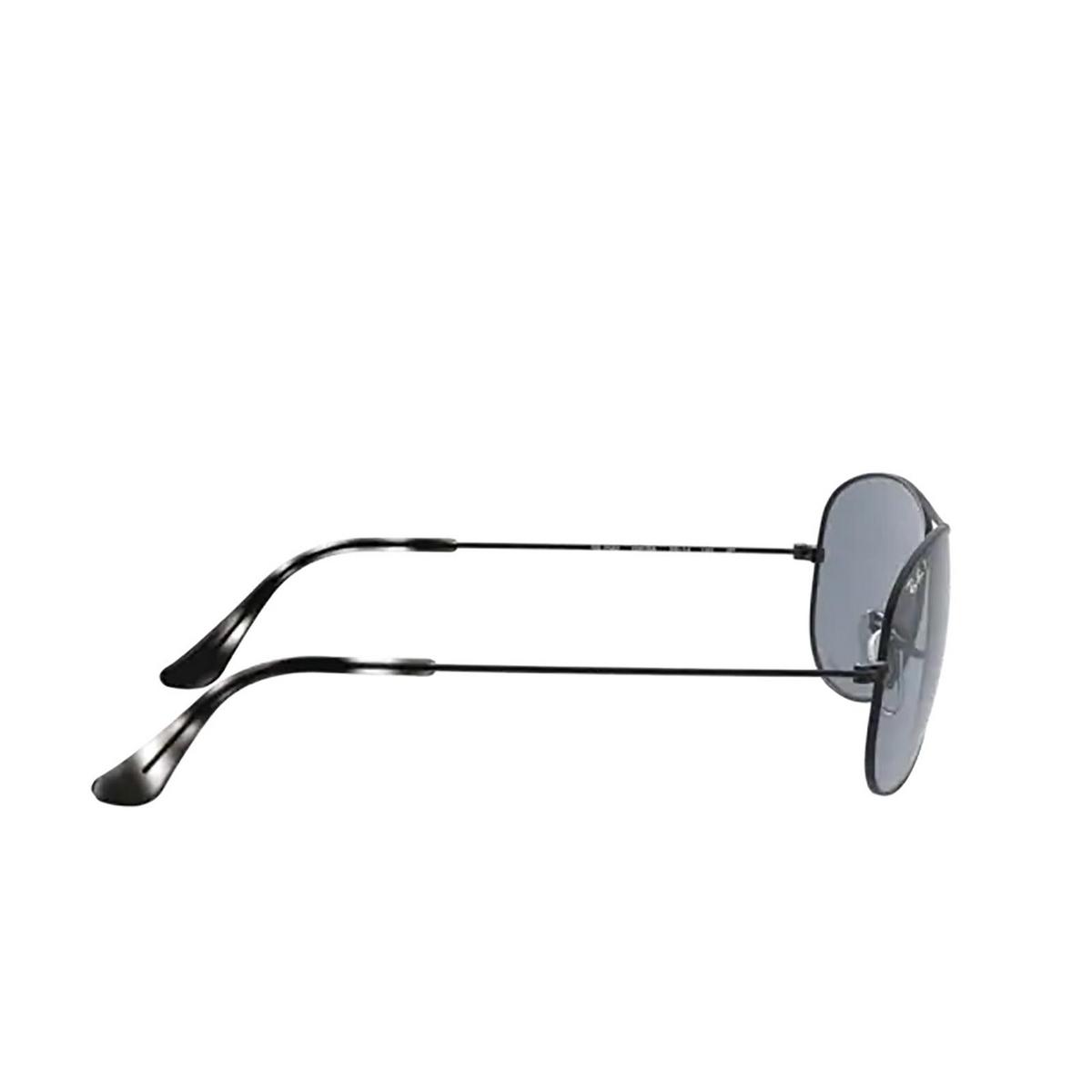 Ray-Ban® Aviator Sunglasses: RB3562 color Matte Black 006/BA - 3/3.