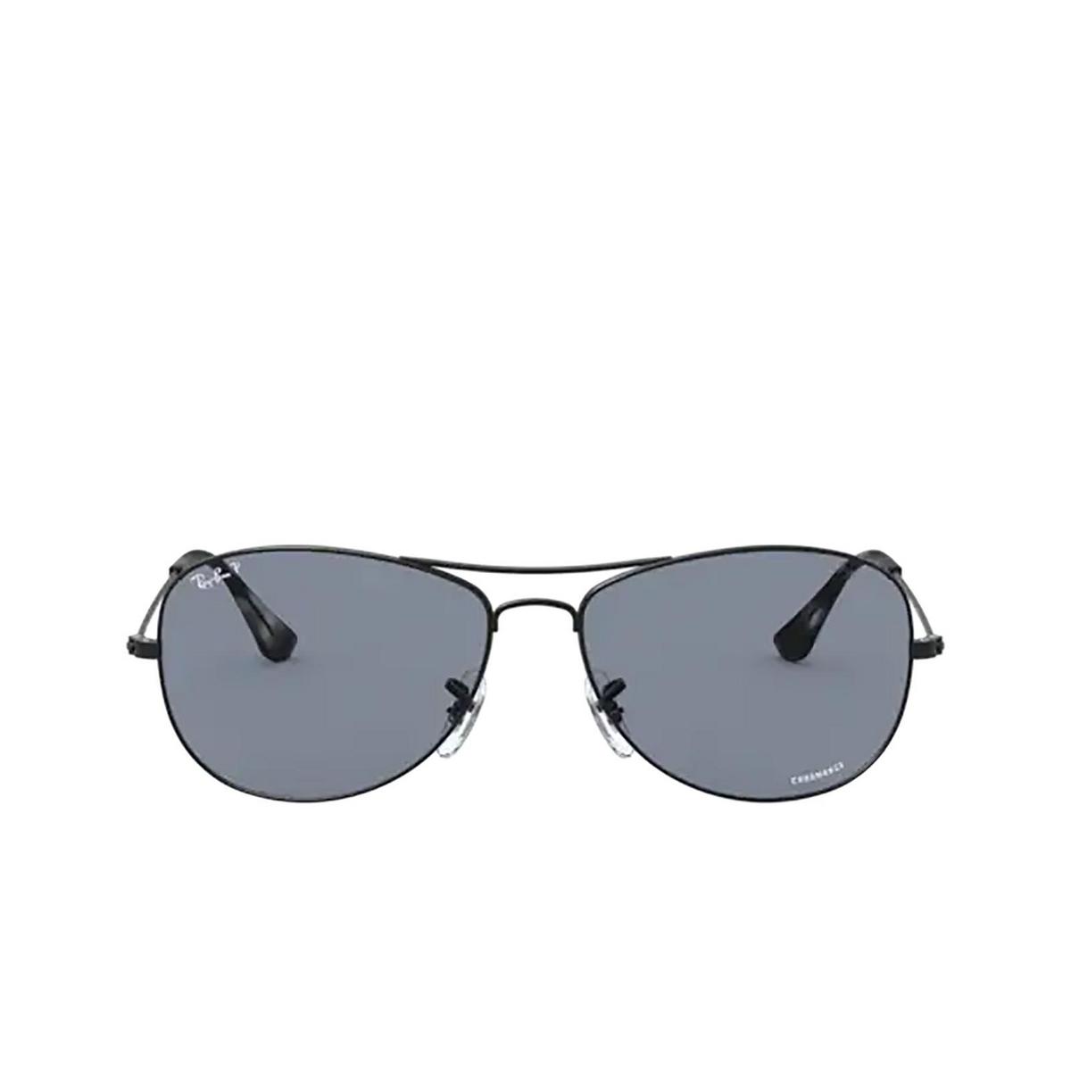 Ray-Ban® Aviator Sunglasses: RB3562 color Matte Black 006/BA - 1/3.