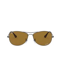 Ray-Ban® Aviator Sunglasses: RB3562 color Matte Gunmetal 029/BB.