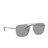 Ray-Ban® Square Sunglasses: RB3588 color Rubber Copper 9146/1 - product thumbnail 2/3.