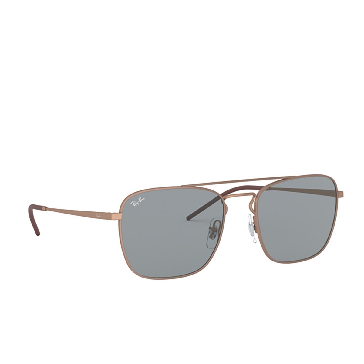 Ray-Ban® Square Sunglasses: RB3588 color Rubber Copper 9146/1 - 2/3.