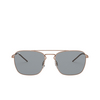Ray-Ban® Square Sunglasses: RB3588 color Rubber Copper 9146/1 - product thumbnail 1/3.