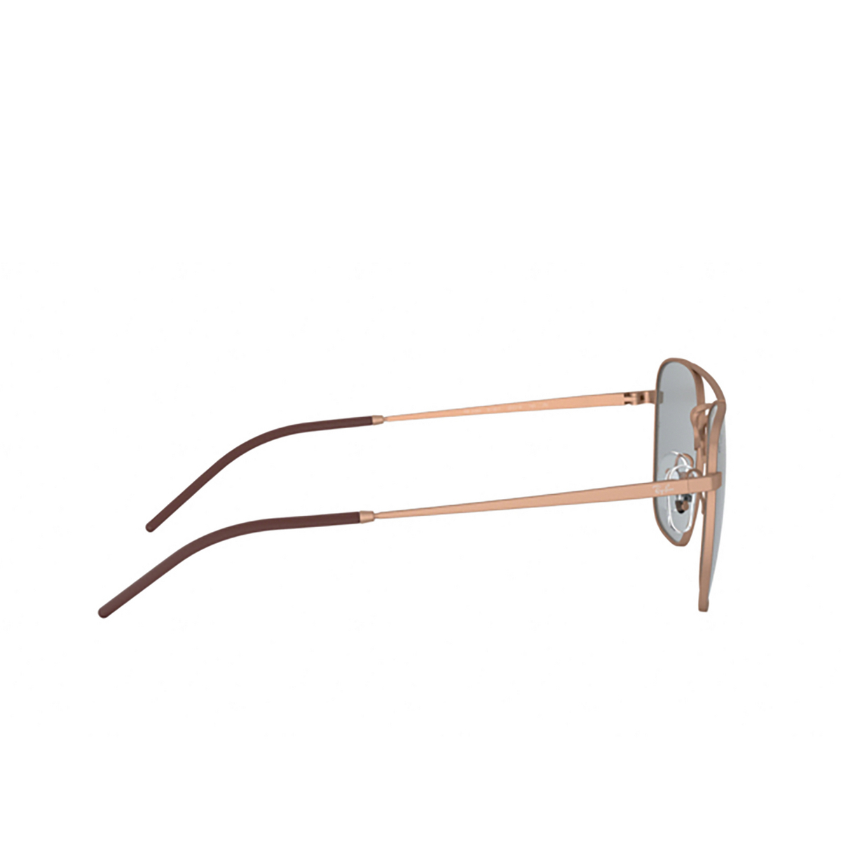 Ray-Ban® Square Sunglasses: RB3588 color Rubber Copper 9146/1 - 3/3.