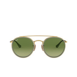 Ray-Ban® Round Sunglasses: RB3647N color Arista 91224M.
