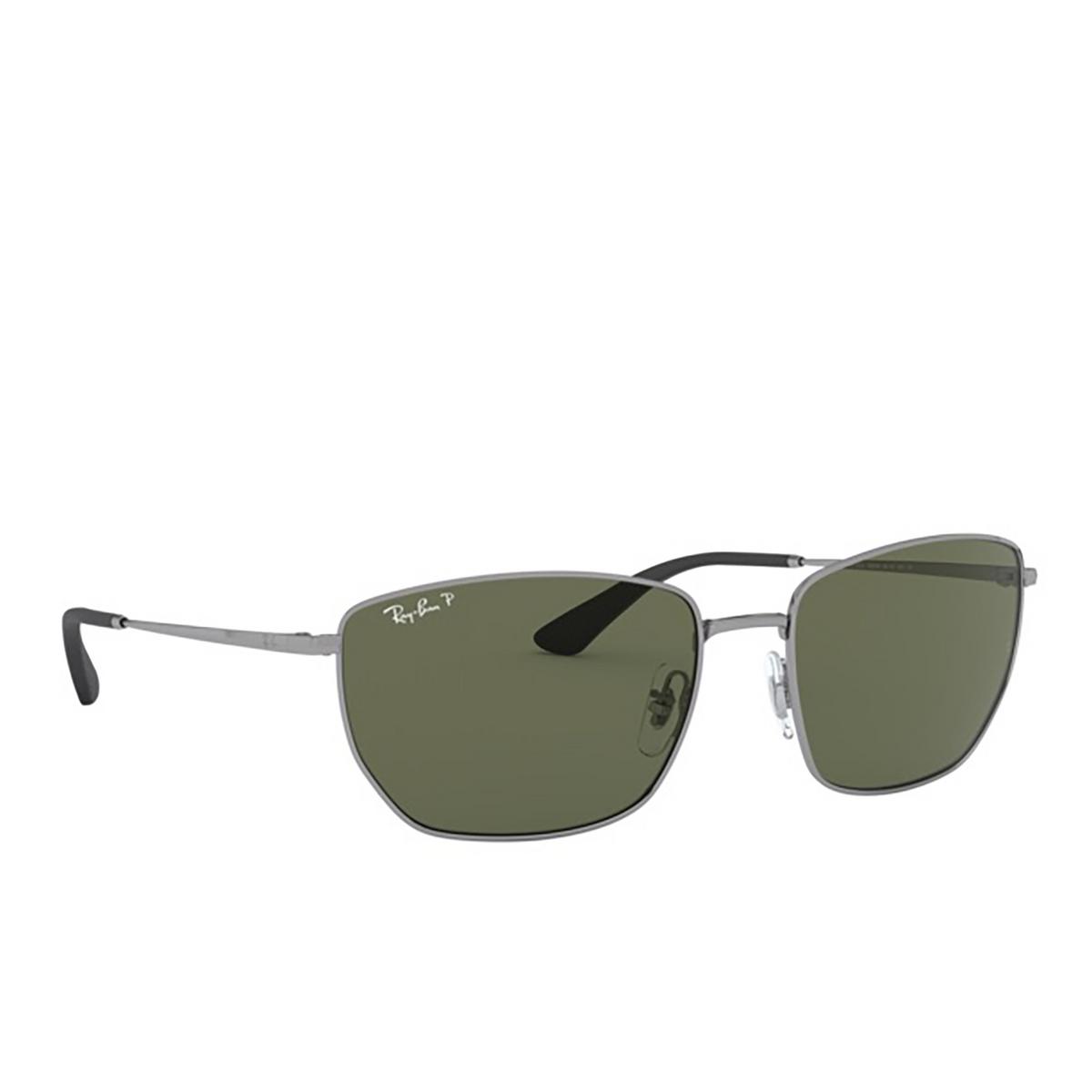Ray-Ban® Square Sunglasses: RB3653 color Gunmetal 004/9A - 2/3.