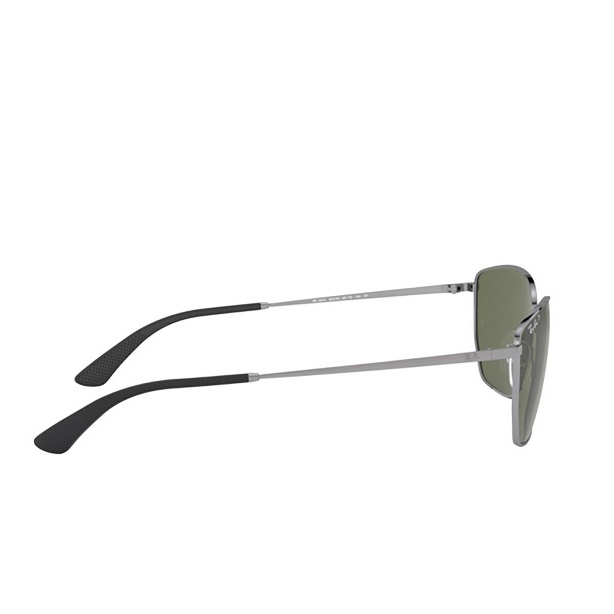 Ray-Ban® Square Sunglasses: RB3653 color Gunmetal 004/9A - 3/3.