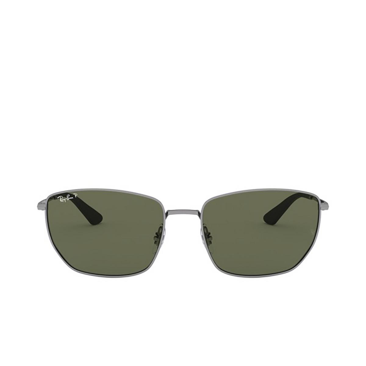 Ray-Ban® Square Sunglasses: RB3653 color Gunmetal 004/9A - 1/3.