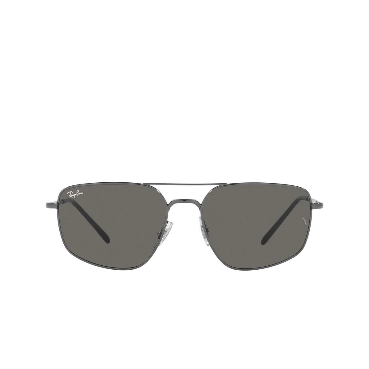Ray-Ban® Irregular Sunglasses: RB3666 color Gunmetal 004/B1.