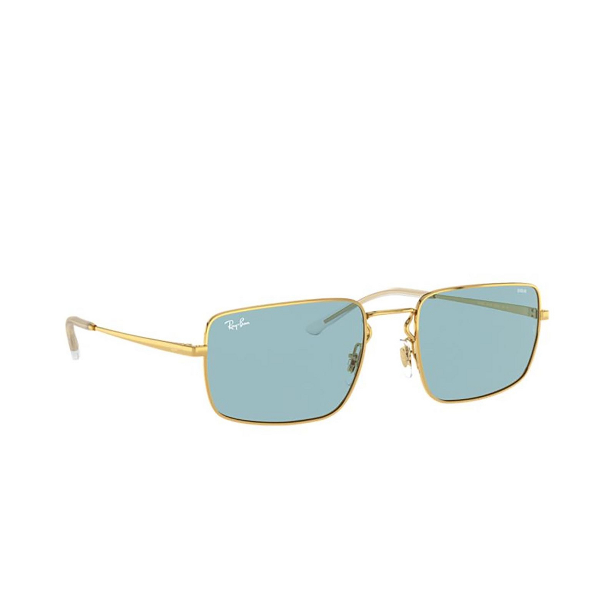 Ray-Ban® Rectangle Sunglasses: RB3669 color Arista 001/Q2 - 2/3.