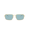 Ray-Ban® Rectangle Sunglasses: RB3669 color Arista 001/Q2 - product thumbnail 1/3.