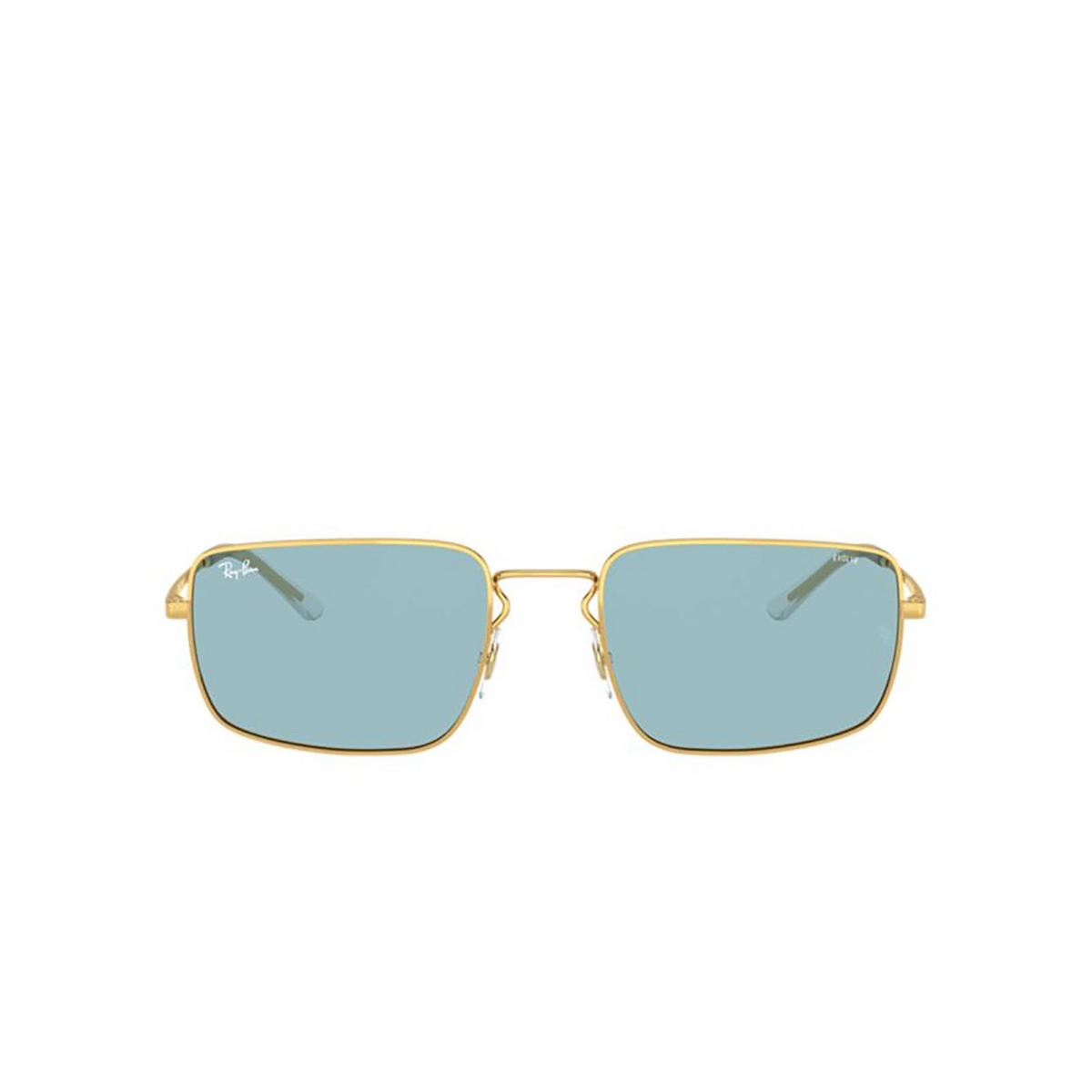 Ray-Ban® Rectangle Sunglasses: RB3669 color Arista 001/Q2 - 1/3.