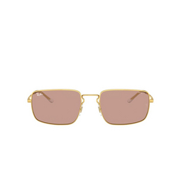 Ray-Ban® Rectangle Sunglasses: RB3669 color Arista 001/Q4.