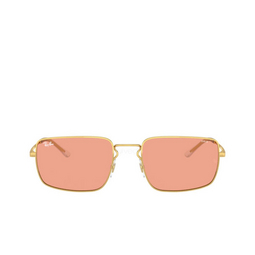 Ray-Ban® Rectangle Sunglasses: RB3669 color Arista 001/Q6.