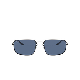 Ray-Ban® Rectangle Sunglasses: RB3669 color Rubber Black 901480.