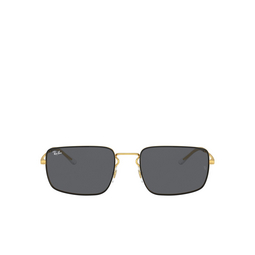 Ray-Ban® Rectangle Sunglasses: RB3669 color Black On Arista 905487.