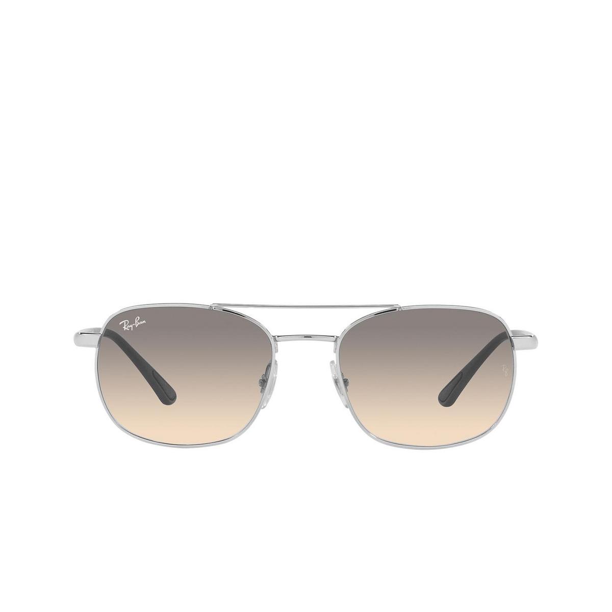 Ray-Ban® Square Sunglasses: RB3670 color Silver 003/32.