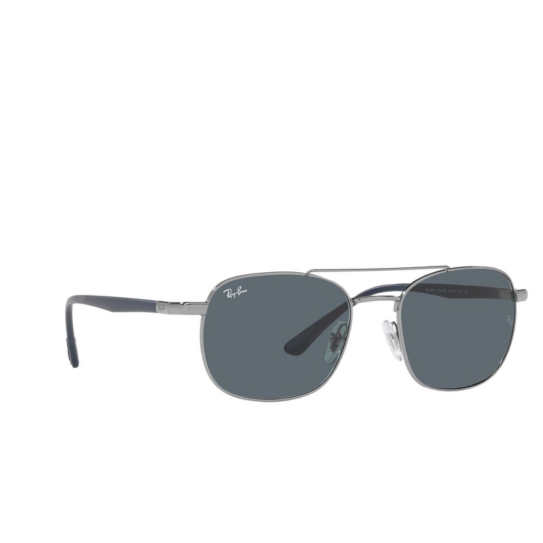Ray-Ban® Square Sunglasses: RB3670 color Gunmetal 004/R5.