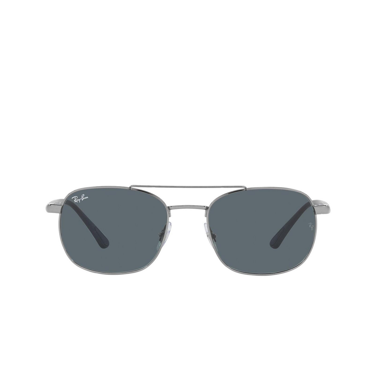 Ray-Ban® Square Sunglasses: RB3670 color Gunmetal 004/R5.
