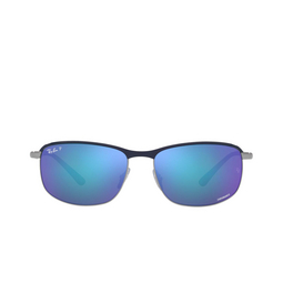 Ray-Ban® Sunglasses: RB3671CH color Blue On Gunmetal 92044L.