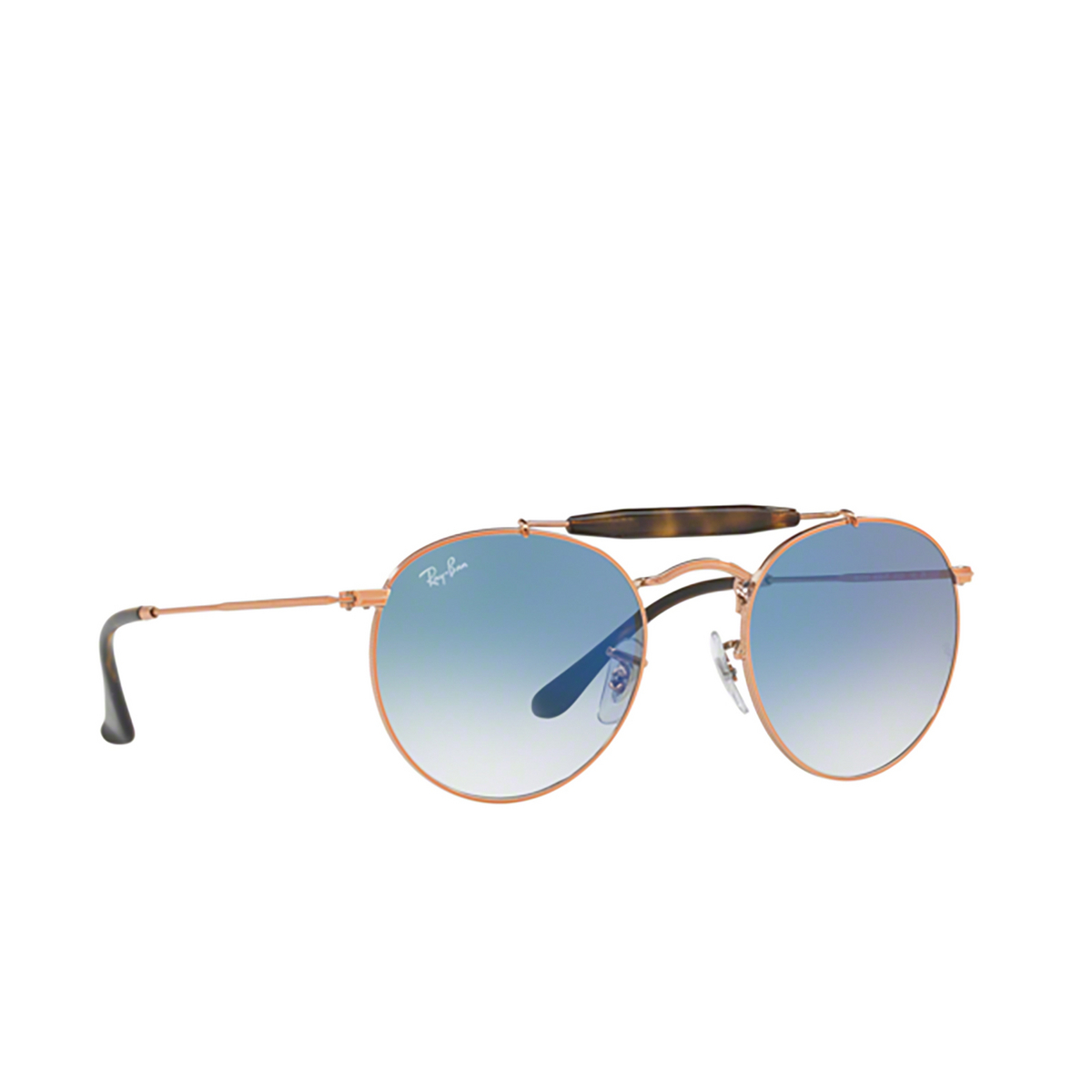 Ray-Ban® Round Sunglasses: RB3747 color 9035/3F - 2/3.