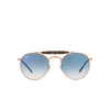 Ray-Ban® Round Sunglasses: RB3747 color 9035/3F - product thumbnail 1/3.