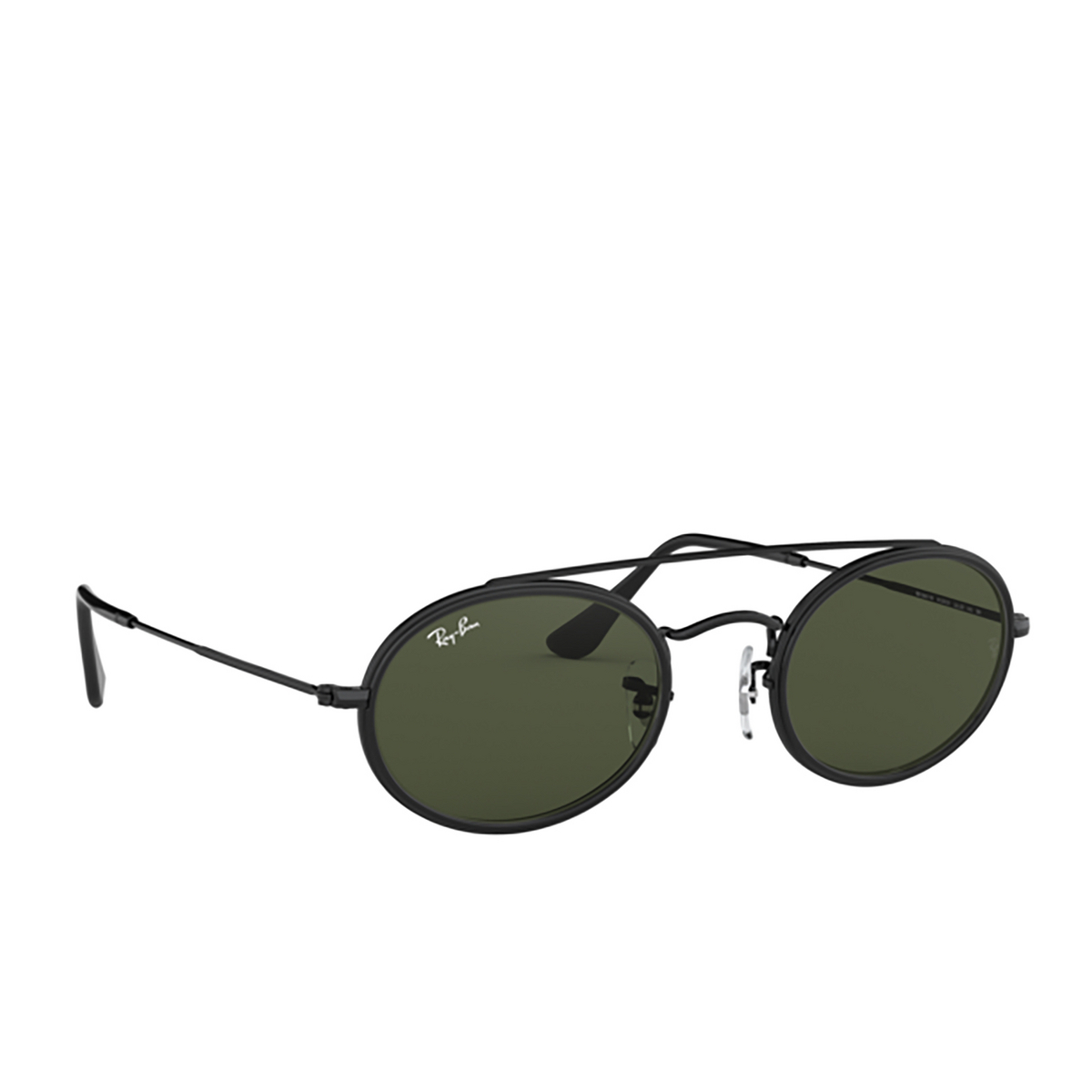 Ray-Ban® Oval Sunglasses: RB3847N color Black 912031.