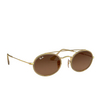 Ray-Ban® Oval Sunglasses: RB3847N color Arista 912443 - product thumbnail 2/3.