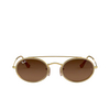 Ray-Ban® Oval Sunglasses: RB3847N color Arista 912443 - product thumbnail 1/3.