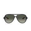 Ray-Ban® Aviator Sunglasses: RB4125M color Black F64471 - product thumbnail 1/3.