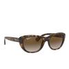 Ray-Ban® Square Sunglasses: RB4227 color Light Havana 710/T5 - product thumbnail 2/3.