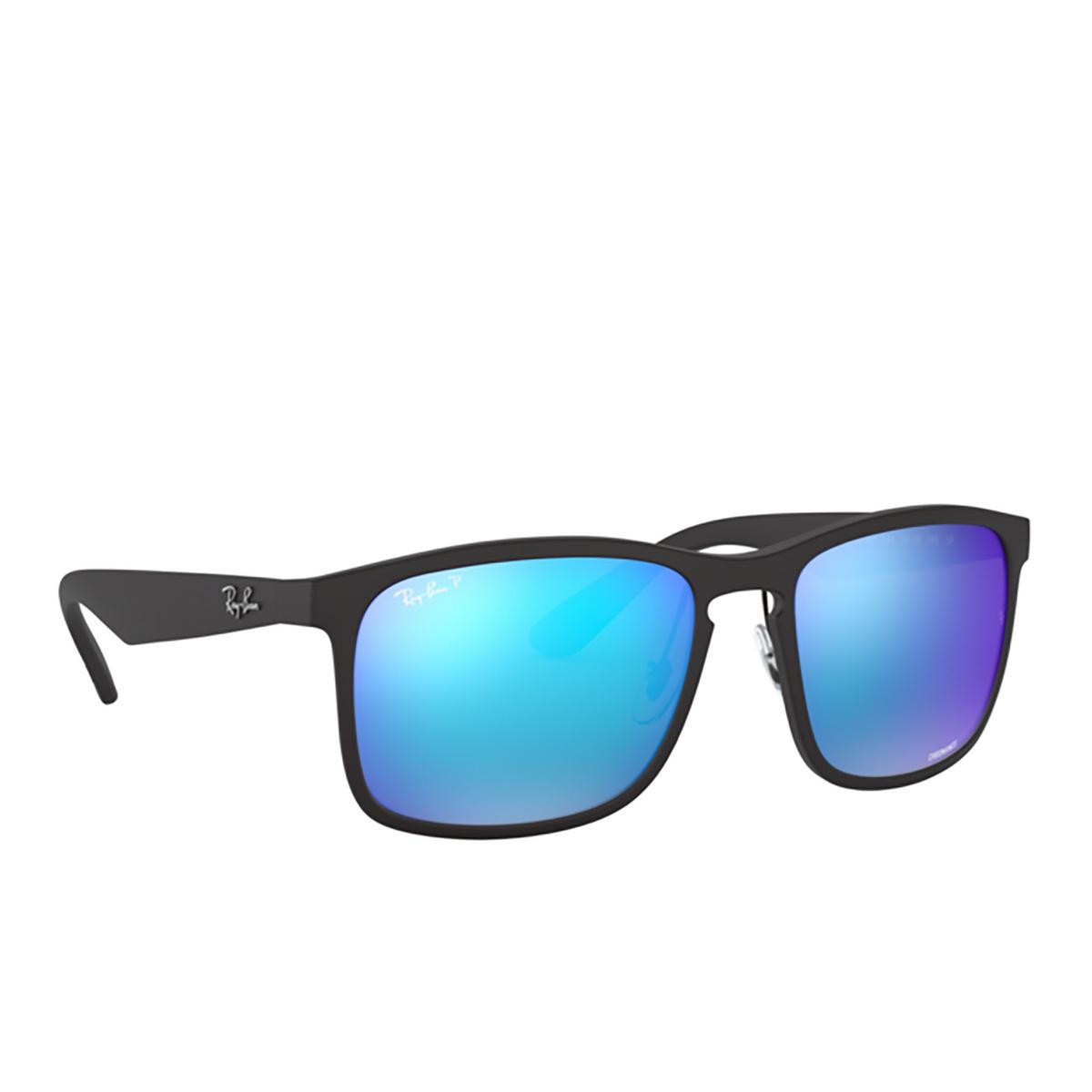 Ray-Ban® Square Sunglasses: RB4264 color Matte Black 601SA1 - 2/3.