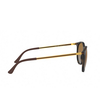 Ray-Ban® Round Sunglasses: RB4274 color Rubber Havana 856/T5 - product thumbnail 3/3.