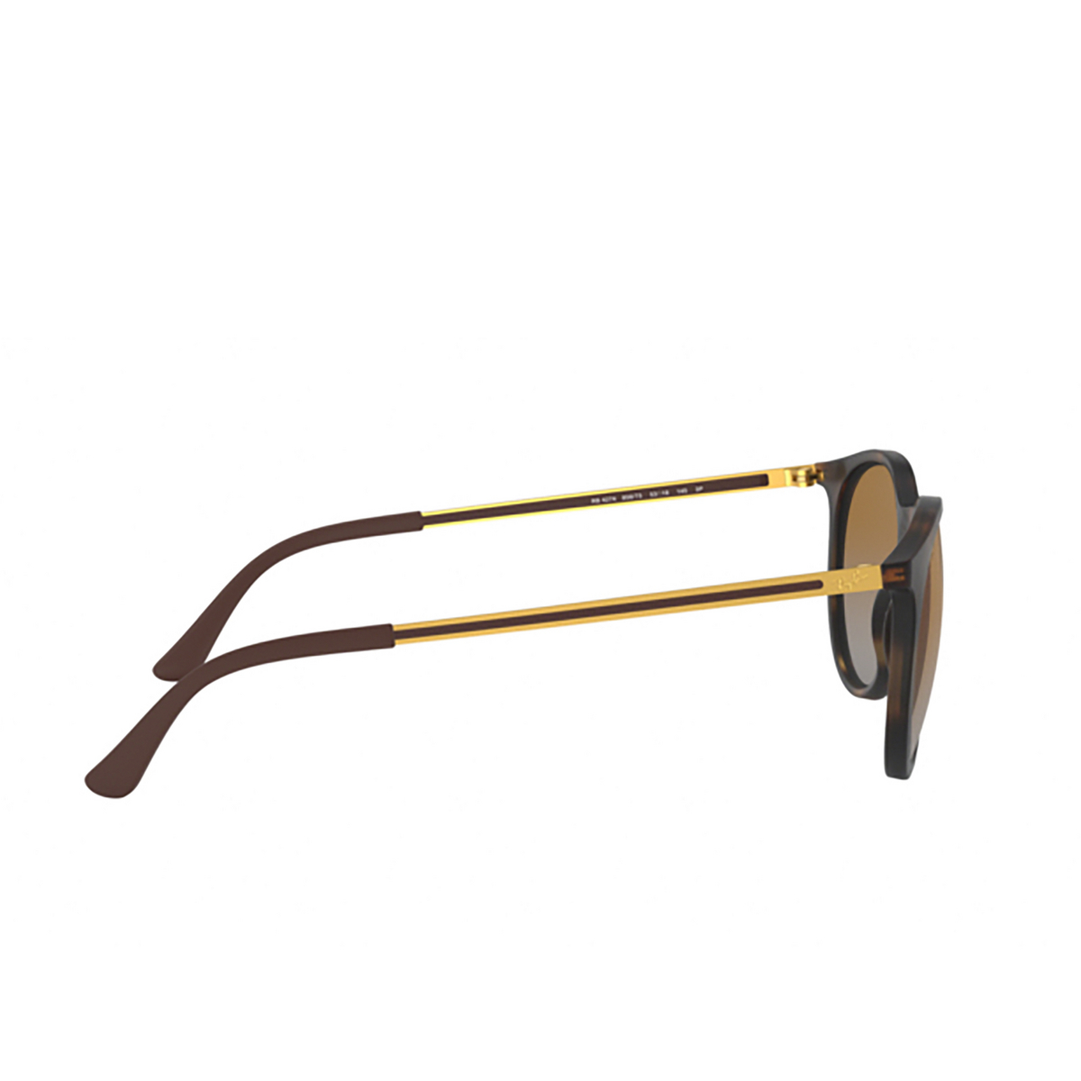 Ray-Ban® Round Sunglasses: RB4274 color Rubber Havana 856/T5 - 3/3.
