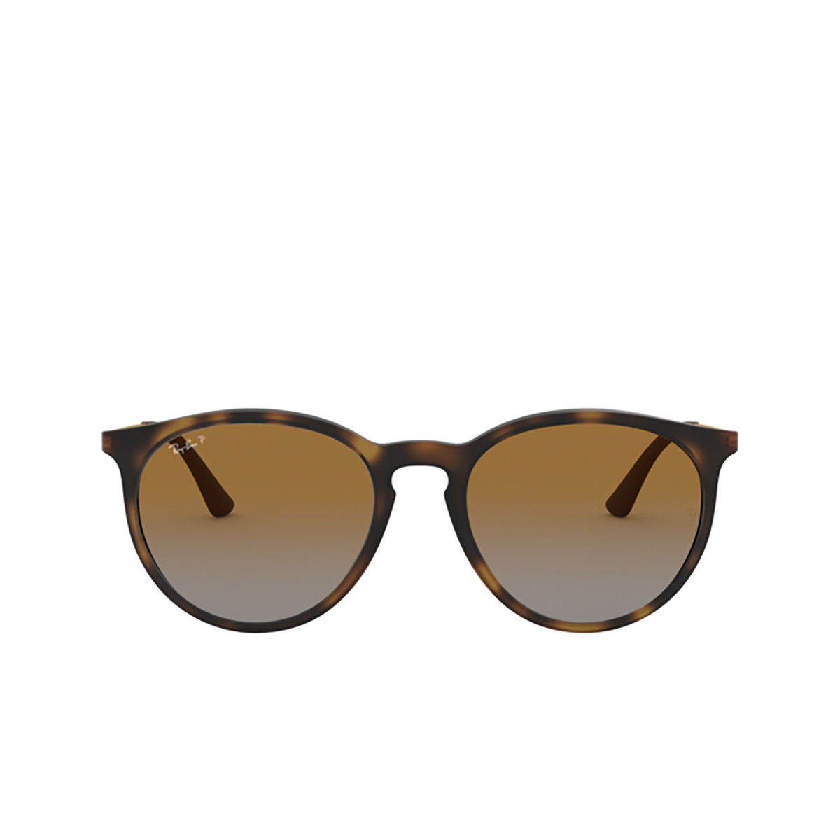 Ray-Ban® Round Sunglasses: RB4274 color Rubber Havana 856/T5 - 1/3.