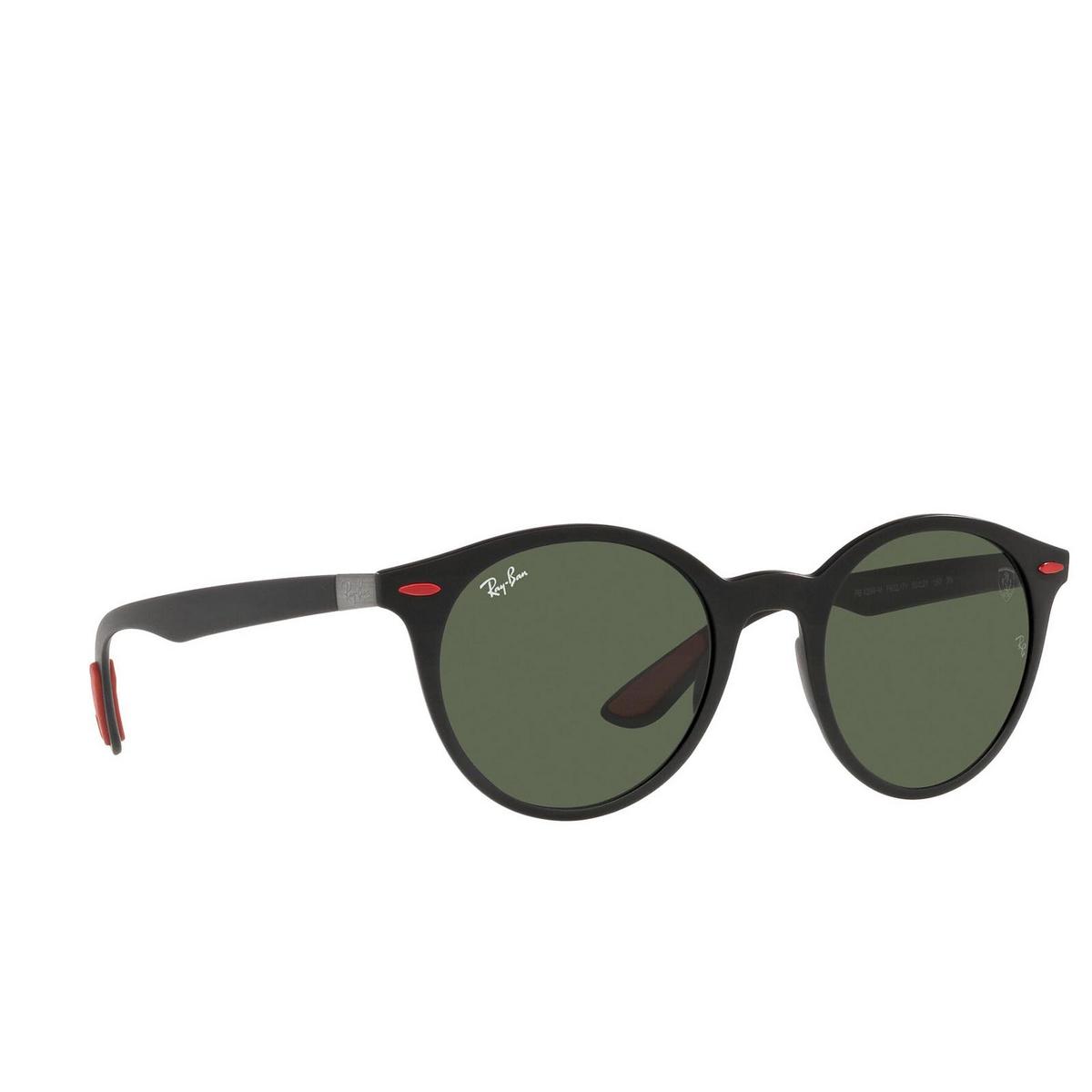 Ray-Ban® Round Sunglasses: RB4296M color Matte Black F60271.