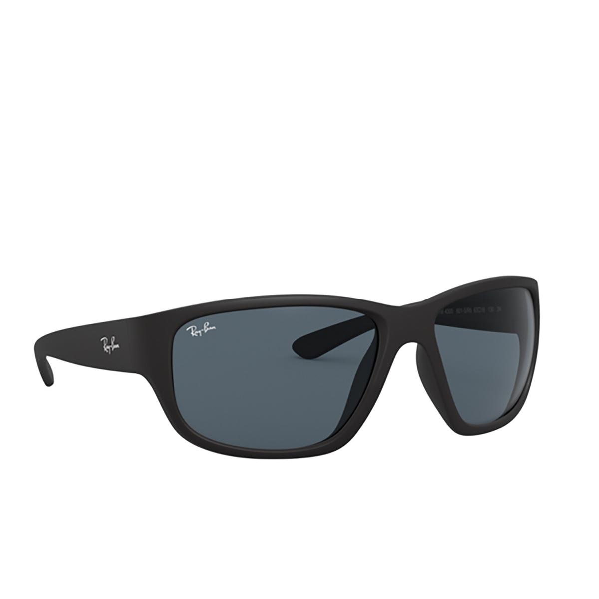 Ray-Ban® Square Sunglasses: RB4300 color Matte Black 601SR5 - 2/3.