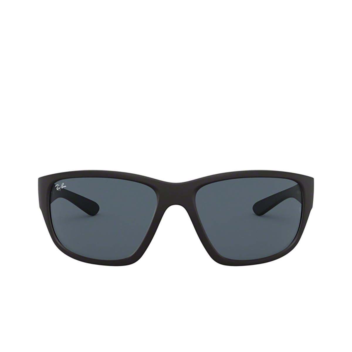 Ray-Ban® Square Sunglasses: RB4300 color Matte Black 601SR5 - 1/3.