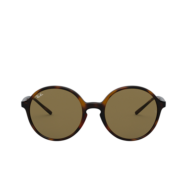 Ray-Ban® Round Sunglasses: RB4304 color Havana 710/73.