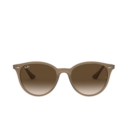 Ray-Ban® Round Sunglasses: RB4305 color Opal Beige 616613.