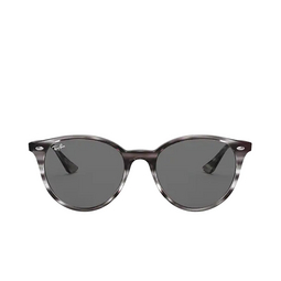 Ray-Ban® Round Sunglasses: RB4305 color Striped Grey Havana 643087.