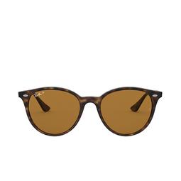 Ray-Ban® Round Sunglasses: RB4305 color Light Havana 710/83.
