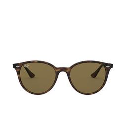 Ray-Ban® Round Sunglasses: RB4305 color Light Havana 710/73.