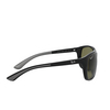Ray-Ban® Square Sunglasses: RB4307 color Black 601/9A - product thumbnail 3/3.