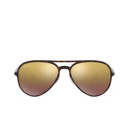 Ray-Ban® Sunglasses: RB4320CH color Light Havana 710/6B.