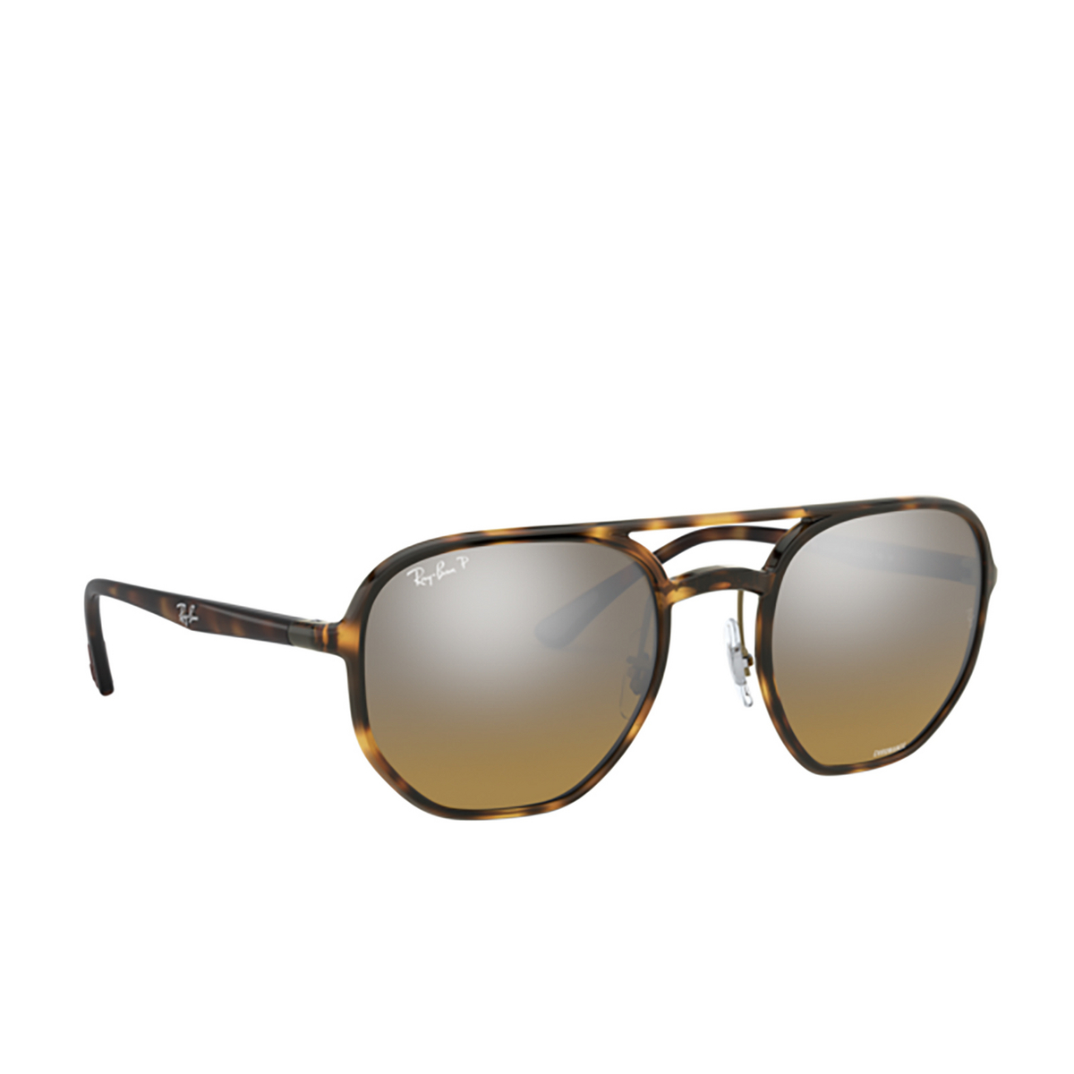 Ray-Ban® Square Sunglasses: RB4321CH color Light Havana 710/A2 - 2/3.
