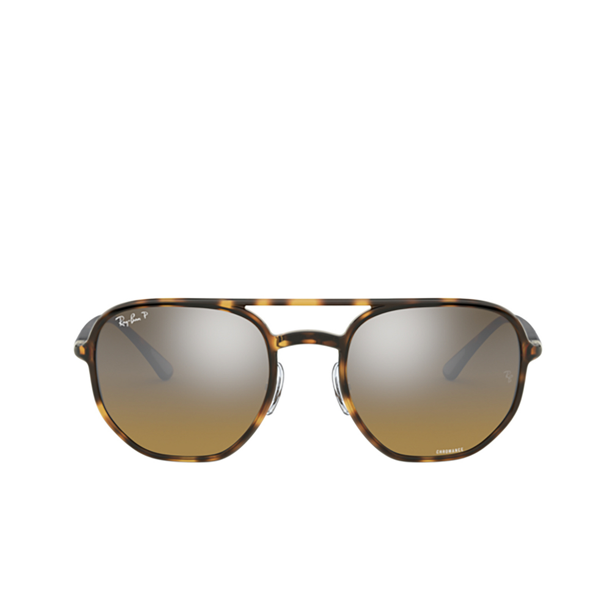 Ray-Ban® Square Sunglasses: RB4321CH color Light Havana 710/A2 - 1/3.