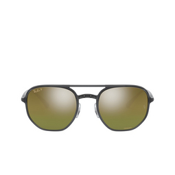 Ray-Ban® Square Sunglasses: RB4321CH color Transparent Dark Grey 876/6O.